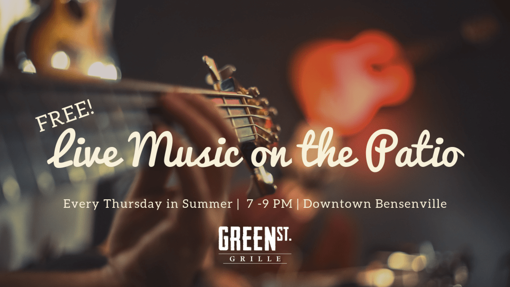 Free Live Music on the Patio